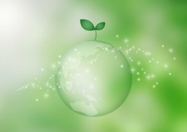 地球とグリーン